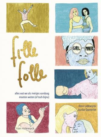 1. 'Fille Folle' van Ilona Lodewijckx