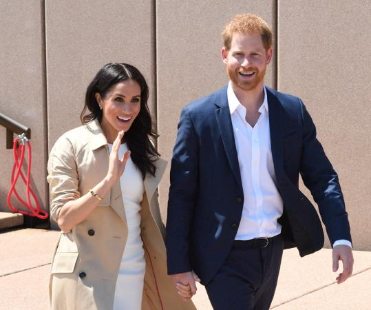 Harry & Meghan in Sydney