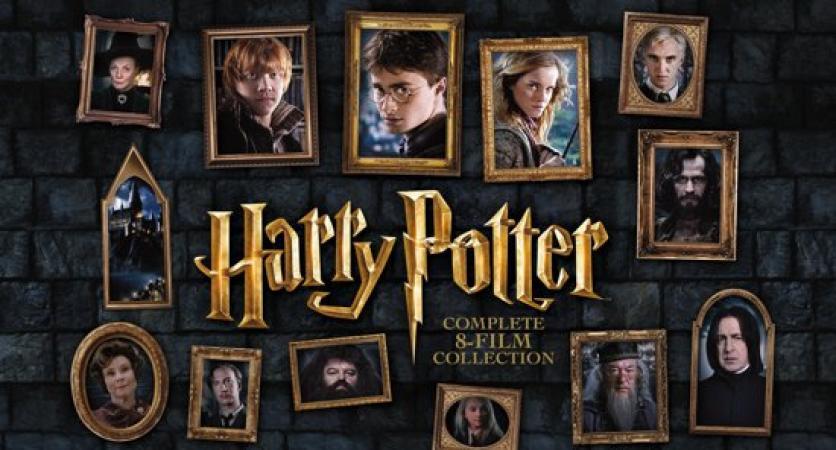 Volledige 'Harry Potter'-filmcollectie