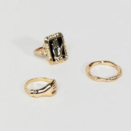 Fijne gouden ringen