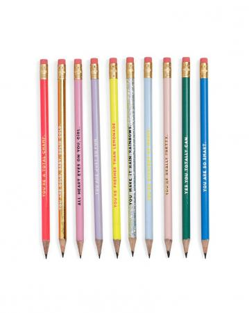 Set van 10 potloden