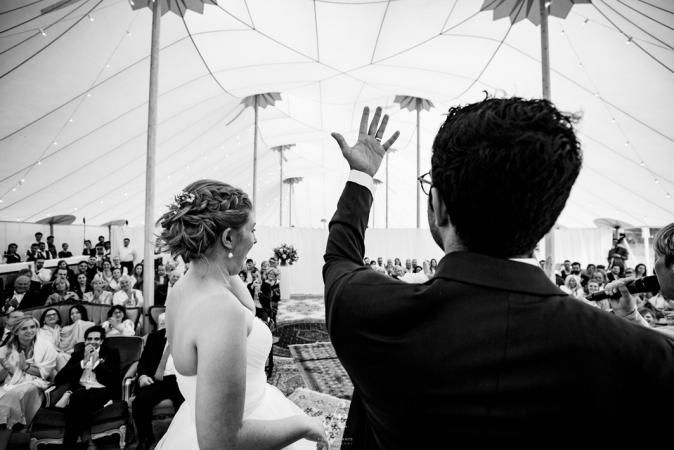 Het eerste moment als man en vrouw