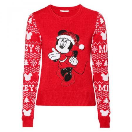 Disney Kersttrui.Ooh C A Komt Met Twee Uberschattige Minnie Mouse Kersttruien