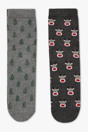 Kerstbomen en rendieren