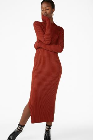 Maxi-jurk met split