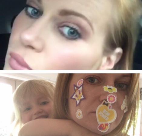 Kinderen hebben een andere definitie van make-up.