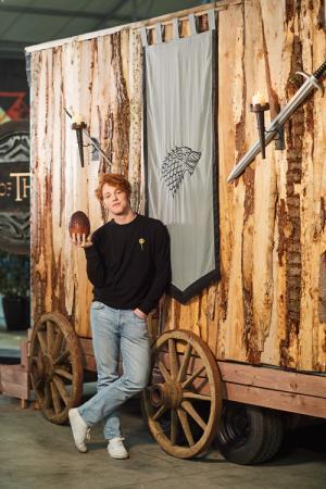 Equal Idiot Thibault Christiaensen voor de 'Game of Thrones'-trailer