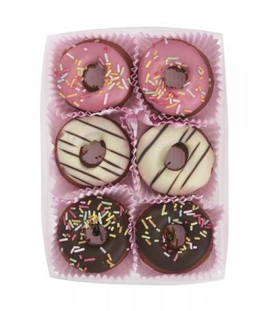 Donuts in marsepein
