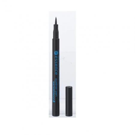 Deep Black Waterproof Eyeliner van Essence