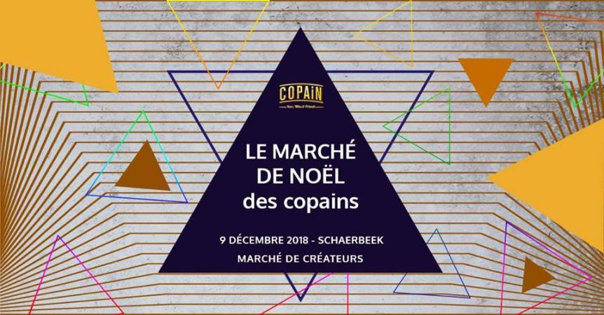 Le Marché de Noël des Copains – 9 décembre