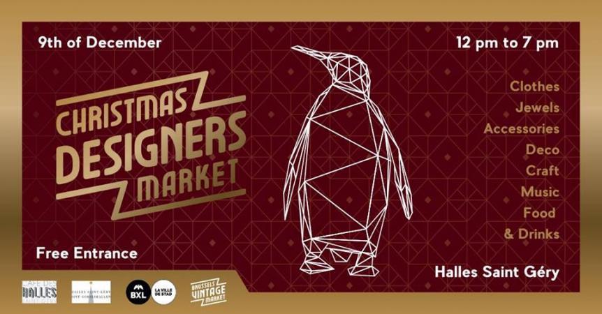 Christmas Designers Market – 9 décembre