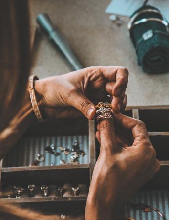 Handgemaakte juwelen