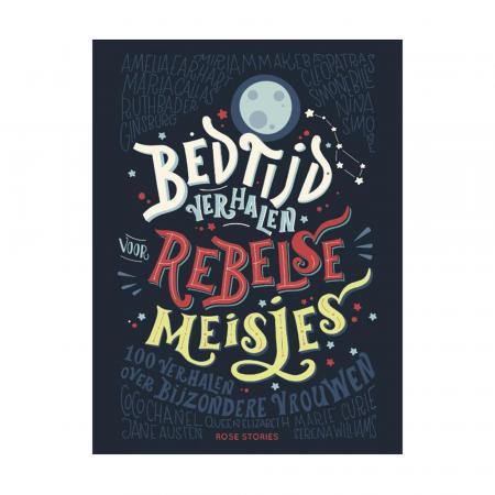 'Bedtijdverhalen voor rebelse meisjes' van Elena Favilli