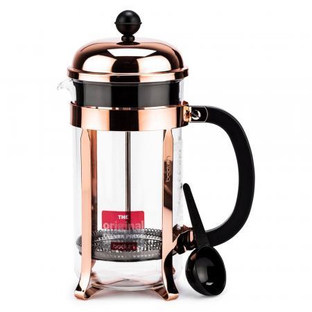 Koperkleurige cafetière (350 ml)