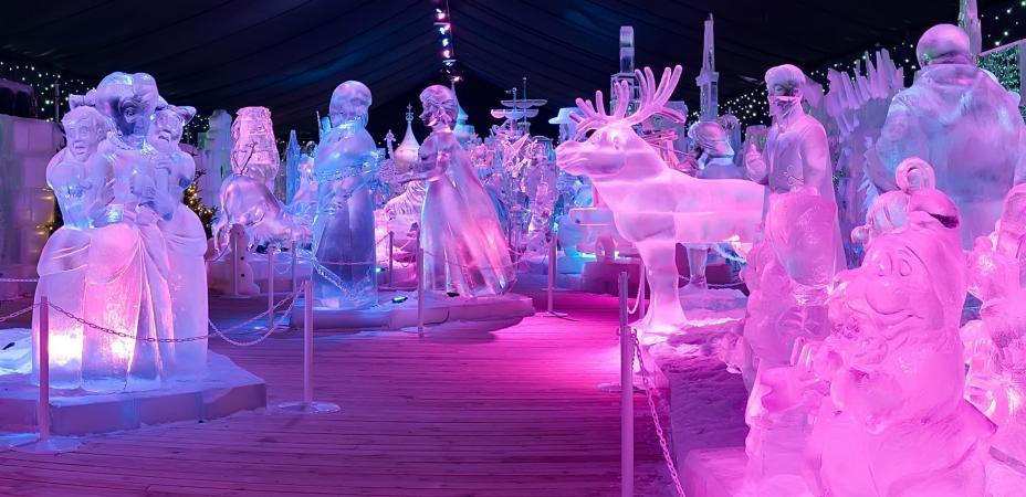 Festival de Sculpture de Glace – BRUGES
