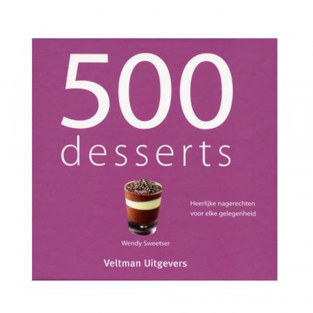 Kookboek 500 desserts