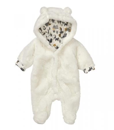 Grenouillère duveteuse ours
