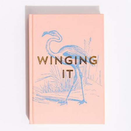Notitieboekje/dagboek/agenda Winging it