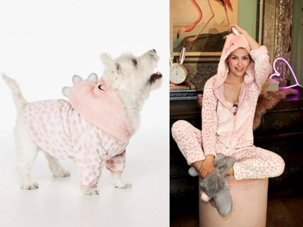 Dezelfde onesie voor jou en je hond