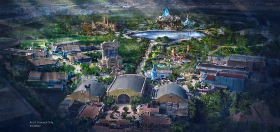 Zo moet het park er na de uitbreiding uitzien.