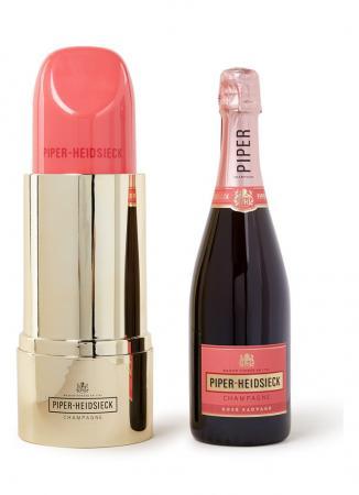 Piper-Heidsieck-champagne in lipstickverpakking