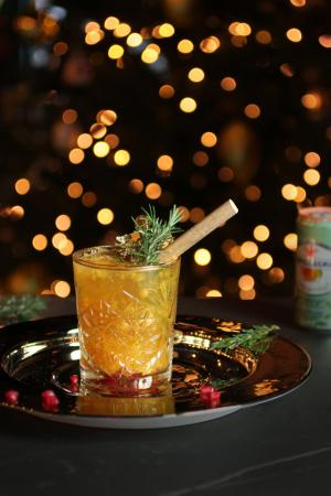 Peach Tea Mango Spritzer