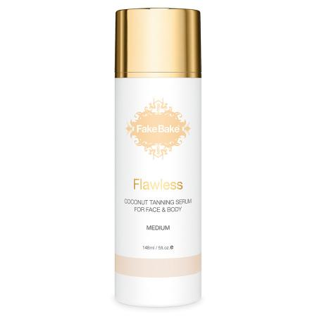Flawless Coconut tanning serum for face & body