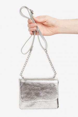 Zilveren handtas