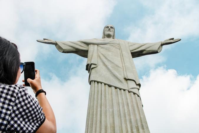 14. Christus de Verlosser (Rio de Janeiro, Brazilie)
