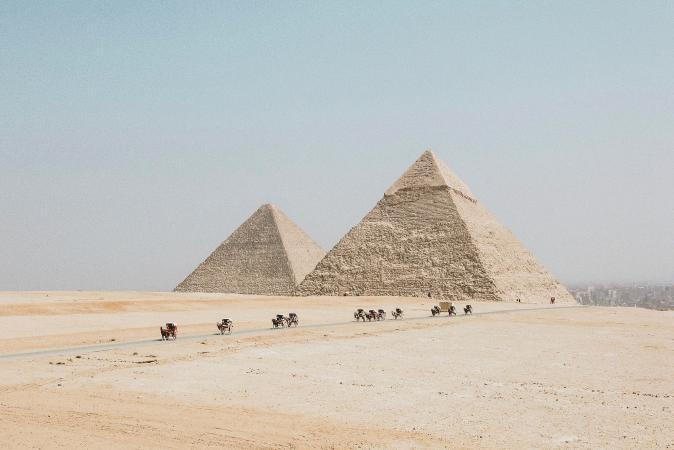 15. Piramides van Gizeh (Egypte)