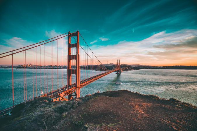 9. Golden Gate Bridge (San Francisco, VS)