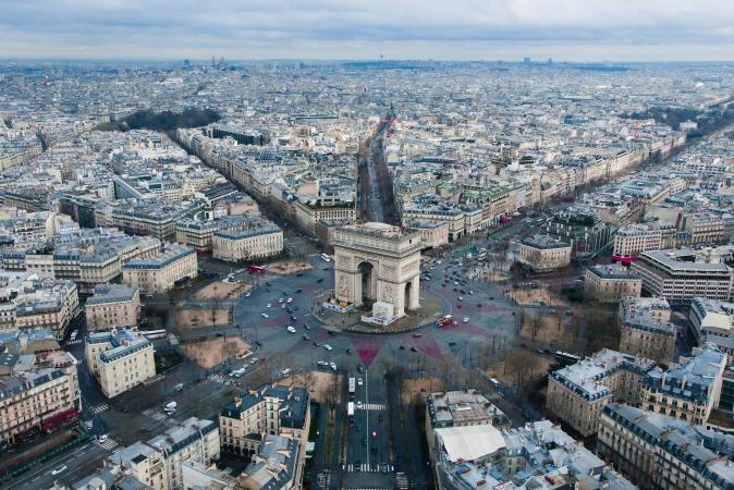 4. Arc de Triomphe (Parijs, Frankrijk)