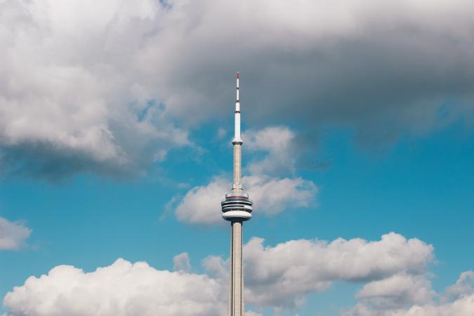 3. CN Tower (Toronto, Canada)