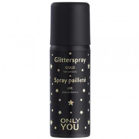 Spray pailleté corps et cheveux Only You