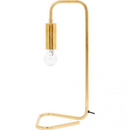 Goudkleurige tafellamp