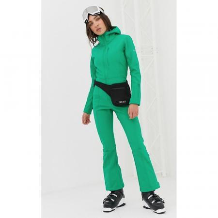 Combinaison à capuche verte