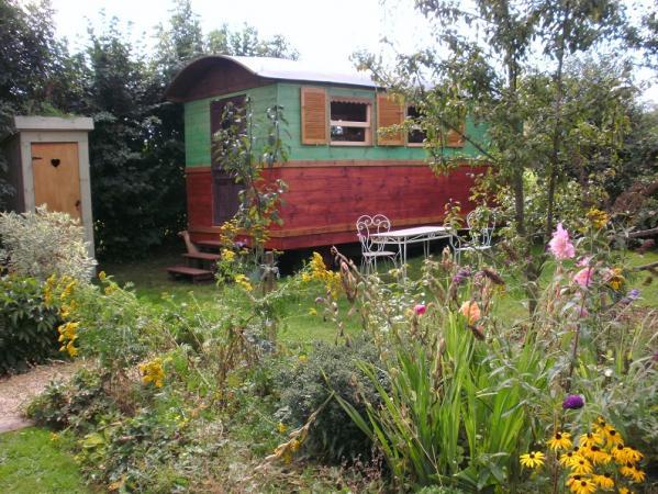 Een authentieke woonwagen – Neufchateau