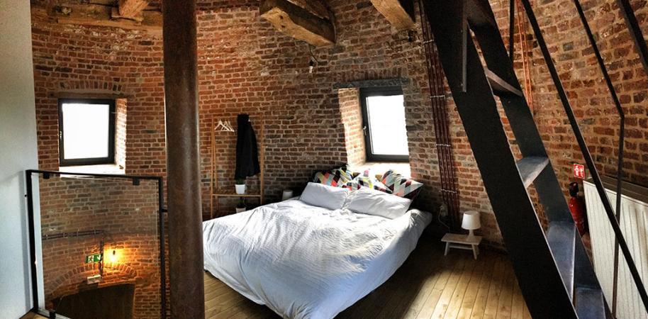 Een oude molen – La Louvière
