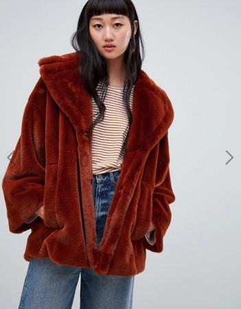 Roestkleurige mantel
