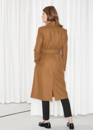 Manteau camel classique