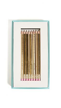 Een set potloden (want een huwelijk plannen = schrappen en gommen)