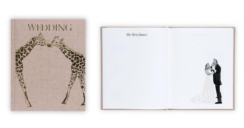 Een notitieboek waarin jullie alles kunnen noteren wat het huwelijk betreft