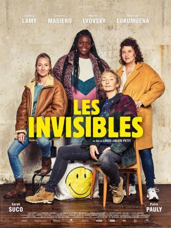 Les invisibles, avec Audrey Lamy