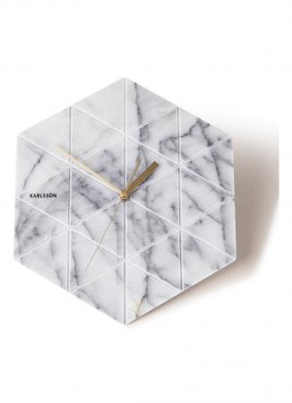 Marble wandklok