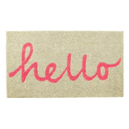 Deurmat 'Hello'