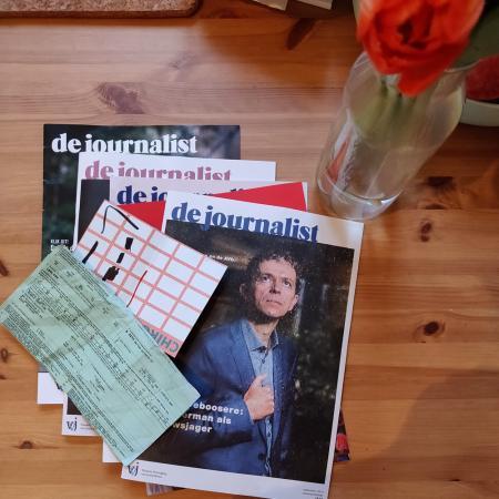 DAG 7: vijf magazines, een drankkaart en een groene kaart van 2018