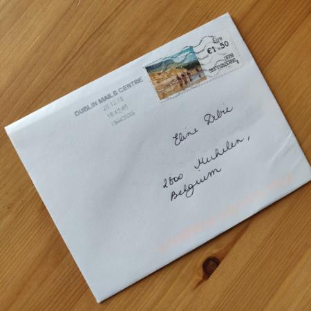 DAG 1: een kerstige envelop