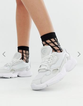 Witte sneakers 'Falcon'