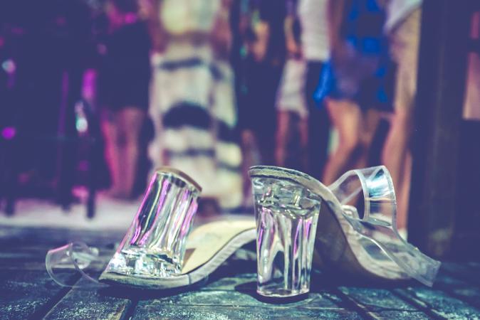 De schoenenwissel