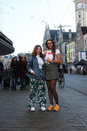 Naré (21) en Meri (20)